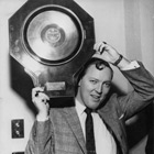 Bill Haley receives a gold disk